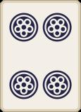 麻雀の四筒