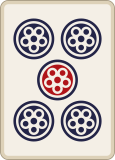 麻雀の五筒
