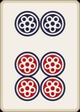 麻雀の六筒