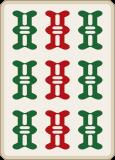 麻雀の九筒